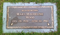 Mary Magdeline Wood