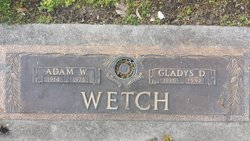 Gladys D <I>Emby</I> Wetch