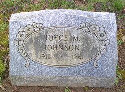 Joyce M Johnson