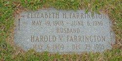 Elizabeth H Farrington