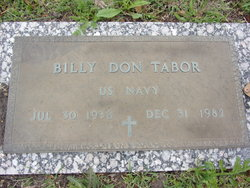 Billy Don Tabor