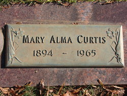 Mary Alma Curtis