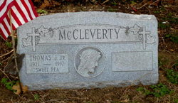 "Thomas J. ""Sweet Pea"" McCleverty, Jr"