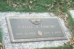 Estelle Virginia <I>Vining</I> Lencses
