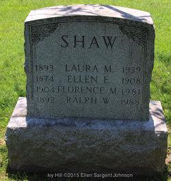 Laura <I>Milnes</I> Shaw