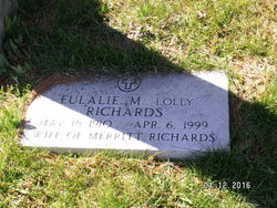 """Eulalie M """"Lolly"""" Richards"""