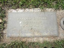 Harold L. Shirk