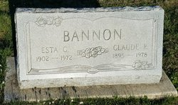 Esta Cleal <I>Goodner</I> Bannon