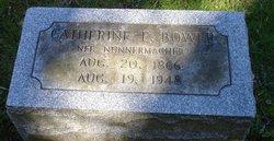 Catherine Elizabeth <I>Nunemacher</I> Bower
