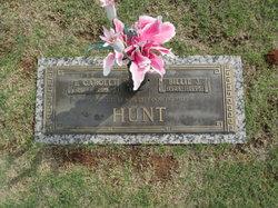 Billie J. <I>Kinder</I> Hunt