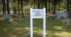 Kenneth and Mamie Jones Hicks Family Cemetery