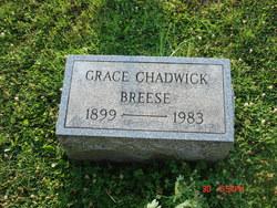 Grace <I>Chadwick</I> Breese
