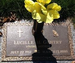 Lucille M  Gentry