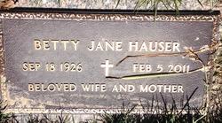 Betty Jane <I>McKeeson</I> Hauser