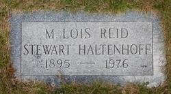 M Lois <I>Reid</I> Haltenhoff