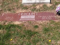 Virginia J <I>O'Reilly</I> Crockett