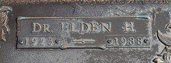 Elden H. Pertz