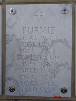 Doris <I>Barry</I> Purvis