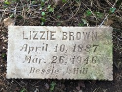 Lizzie <I>Wallace</I> Brown