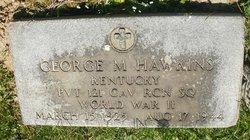 PFC George M. Hawkins