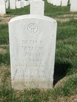 Beth E. Taylor