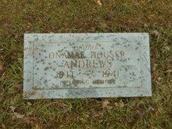 Onamae <I>Houser</I> Andrews