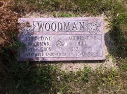 Audrey June <I>Hill</I> Woodman