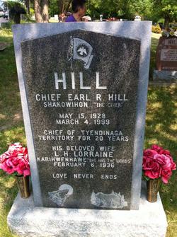 Chief Earl R  Hill