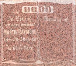 Martin Raymond Dodd