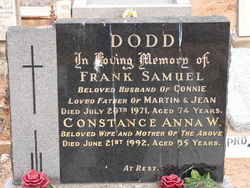 Constance Anna W. Dodd