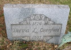Bertha L Oxenford