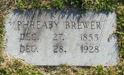"Pherane Rowina ""Phreaby"" <I>Smith</I> Brewer"