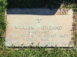 William Gilland