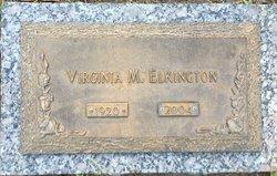 Virginia M Elkington