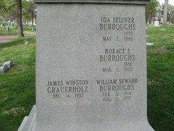 Ida <I>Selover</I> Burroughs