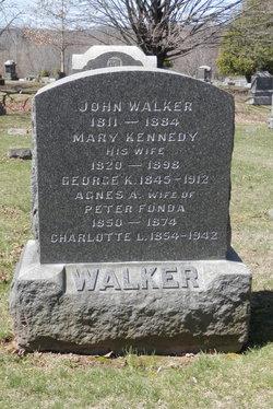 Agnes A. <I>Walker</I> Fonda