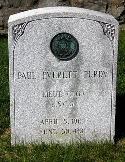 LTJG Paul Everett Purdy