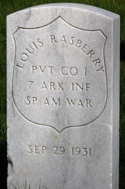 PVT Louis Rasberry