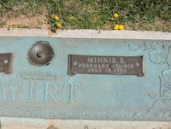 Minnie E <I>Eanes</I> Wirt