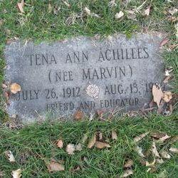 Tena Ann <I>Marvin</I> Achilles