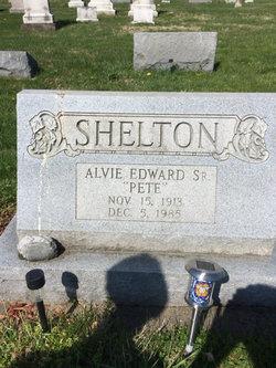 """Alvie Edward """"Pete"""" Shelton"""