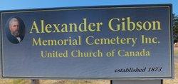 Alexander Gibson Memorial Cemetery