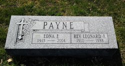 Edna <I>Trosper</I> Payne