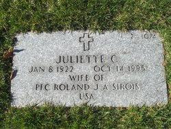 Juliette C Sirois