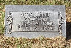 Edna <I>David</I> Vaughan