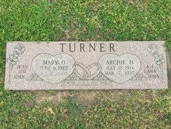 Mary O Turner