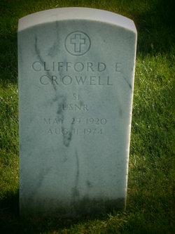 Clifford E Crowell