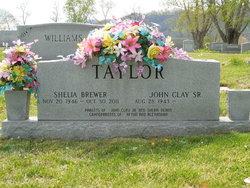 Shelia <I>Brewer</I> Taylor