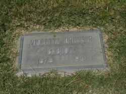Violetta A Letty IDresser I Babcock