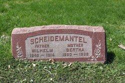 Bertha <I>Treskotsch</I> Scheidemantel